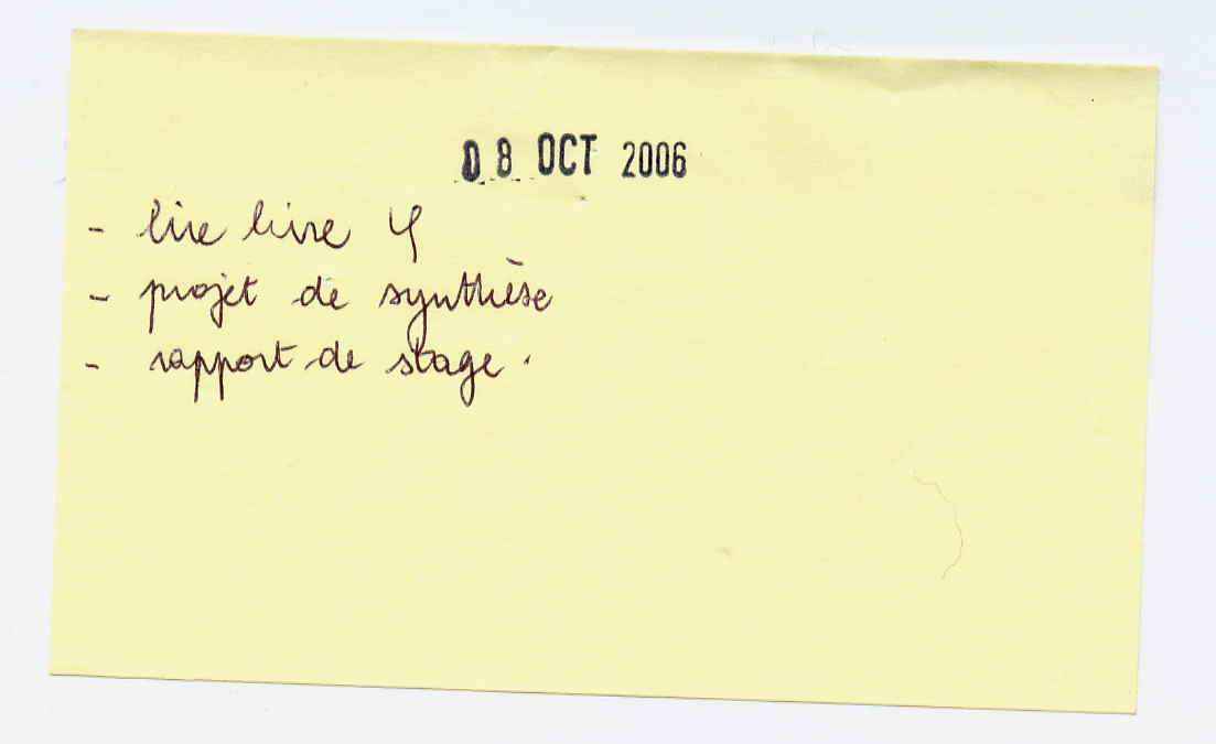08 novembre 2006