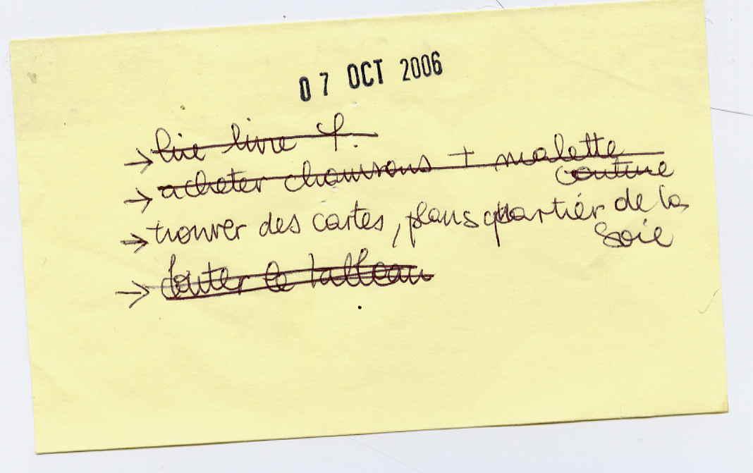 07 octobre 2006